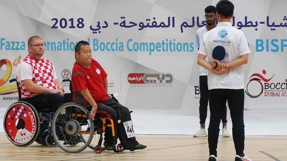 港隊於BISFed 2018杜拜世界硬地滾球公開賽個人賽奪一金一銀