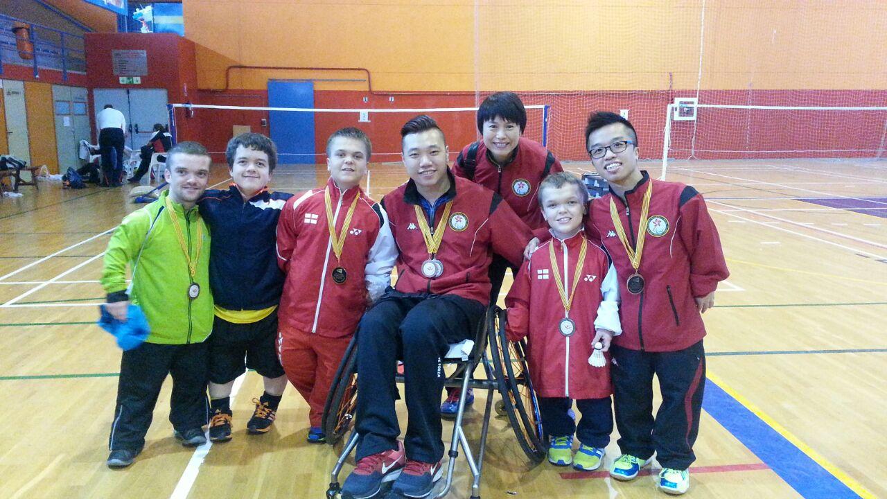 2015西班牙羽毛球國際賽圖片