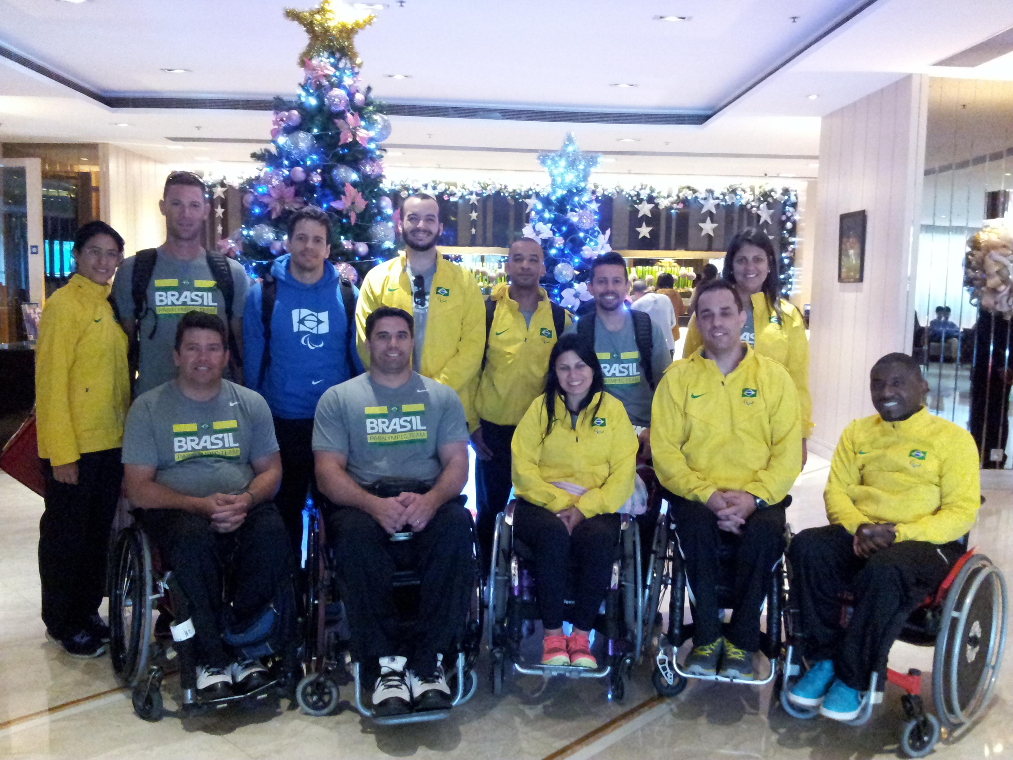 Brazil Team arrival
