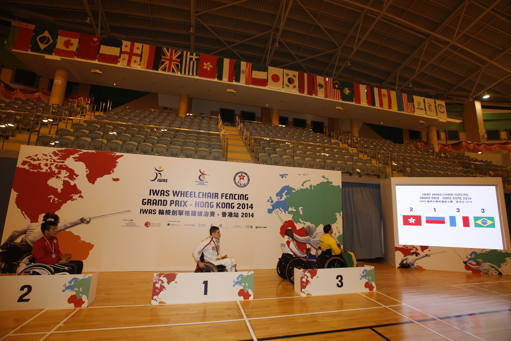 IWAS Wheelchair Fencing Grand Prix 2014 Second day Photo