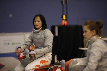 IWAS Wheelchair Fencing Grand Prix 2014 third day Photo