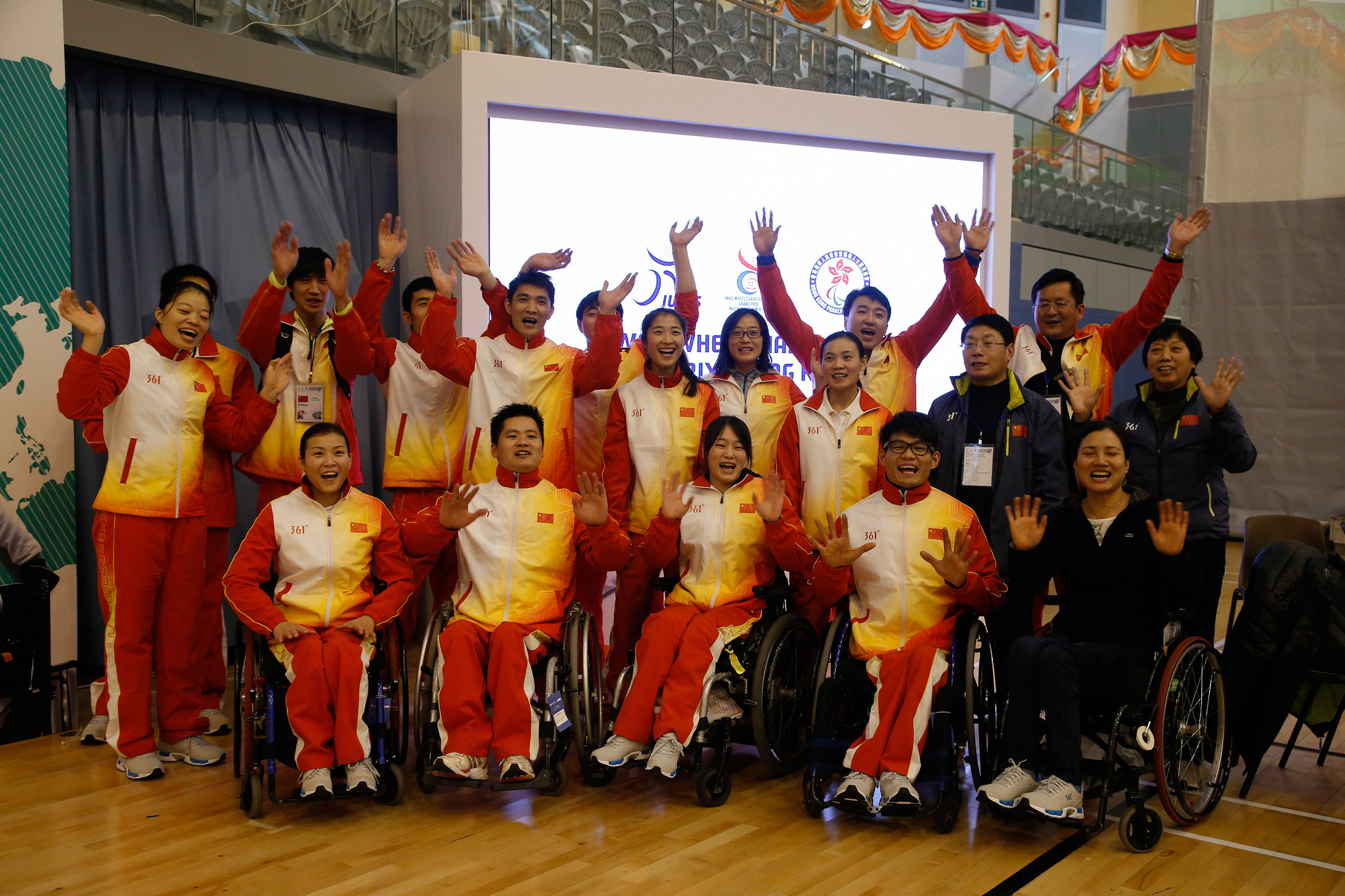 IWAS Wheelchair Fencing Grand Prix 2014 last day Photo
