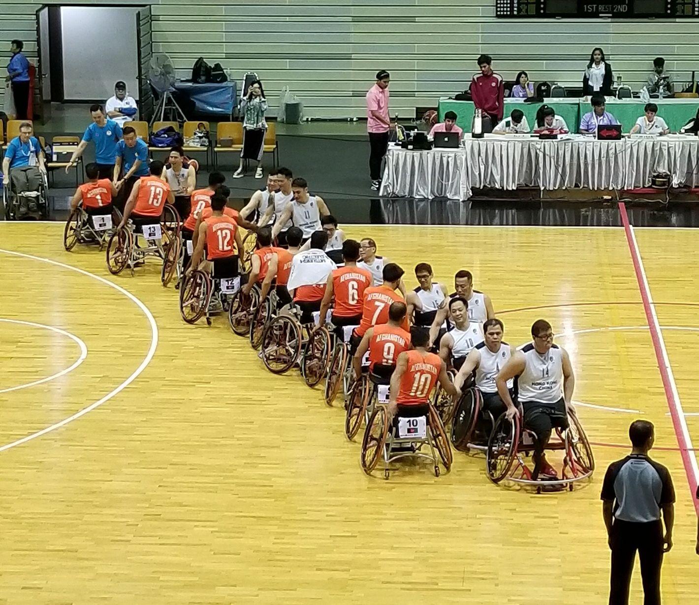 港隊取得亞殘運輪椅籃球資格賽第五名