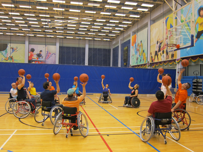 輪椅籃球社區訓練計劃圖二