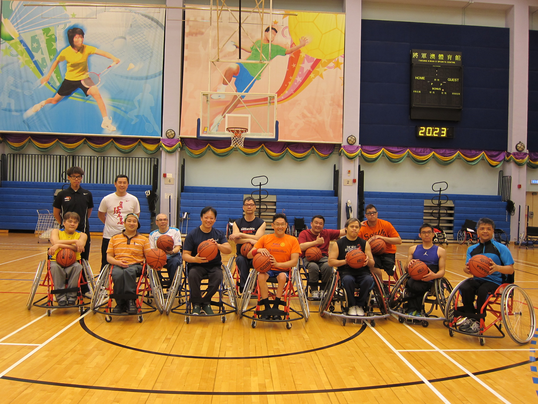 輪椅籃球社區訓練計劃圖一