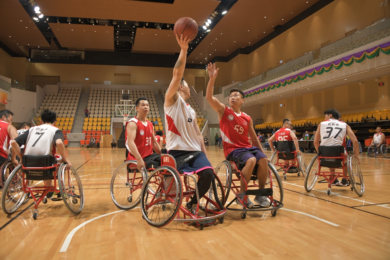 The 7th Hong Kong Games Wheelchair Basketball Challenge Semi-finals