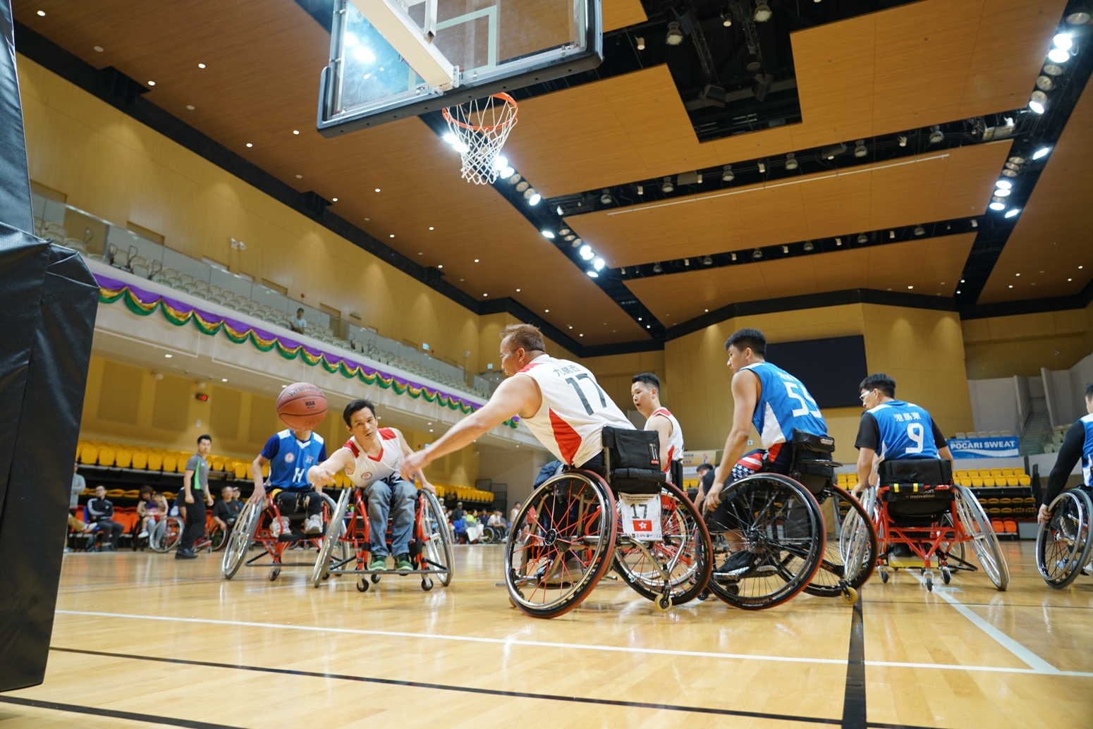 Island East Took Bronze in 7th Hong Kong Games Wheelchair Basketball Challenge