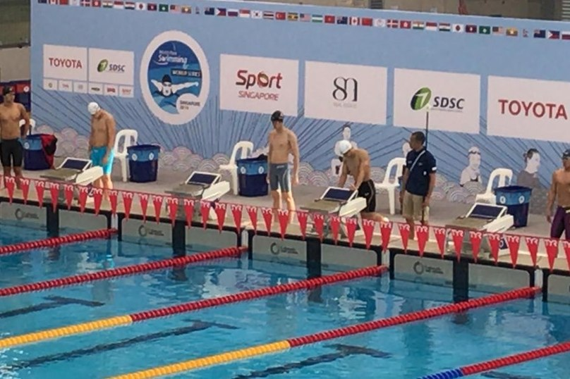 Hong Kong Team finished Singapore 2019 World Para Swimming World Series